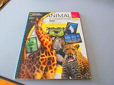 Animal Champions Album al Panini National Geographic completo tranne 15 figurine