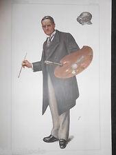 Original Victoriano Vanity Fair impresión; John Seymour Lucas - 14/12/1899 - Artista