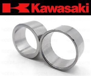 Set of (2) Kawasaki Ninja ZX6R, ZX10R Exhaust Muffler Silencer Pipe Joint Gasket