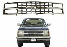 Replacement GM1200142 Chrome Grill For 1988-1993 Chevrolet C1500 Blazer New USA