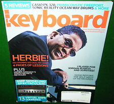 Herbie Hancock Synth Secrets & CASIO PX-320 Reviewed in 2008 Keyboard Magazine