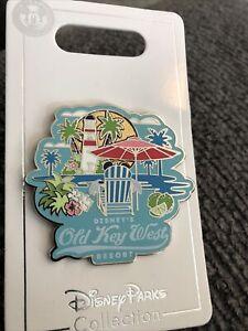 Walt Disney World Parks Pin Old Key West Resort New on Card Mickey Open Edition