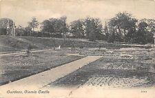 BR63006 gardens glamis castle angus scotland