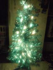 4 ft Indoor Artificial Christmas Tree Pre Lit Purple 70 lights Decorative