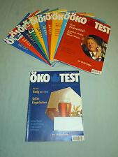 Öko Test Jahrgang 1998 Hefte Nr. 2-12 insgesamt 11 Hefte