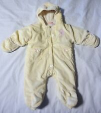 US Polo Assn USPA Baby Fleece Snowsuit Pram Outerwear Jacket 3-6M warm and soft