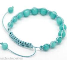 Bracelet SHAMBALA réglable turquoise 22-25 cm