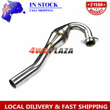 Stainless Bomb Exhaust Head Pipe Header For Kawasaki KLX250S KLX250SF 2006-12