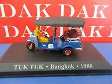 Die cast 1/43 Modellino Moto Scooter Taxi Tuk Tuk Bangkok 1980
