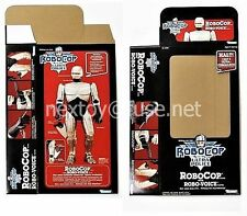 Kenner BOX FLAT for UNRELEASED Prototype Talking RoboCop ROBO-VOICE (1990)