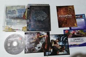 Uncharted 2 El Reino de los Ladrones  Playstation 3 Ps3 Completo Pal Español