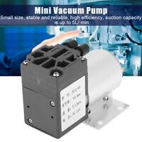 Mini Vakuumpumpe DC 12V 5L/min 120kpa Unterdruck Saugpumpe Micro-Pump mit Halter