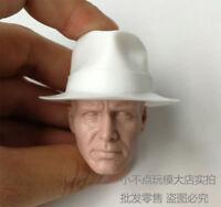 1/6 scale Indiana Jones Harrison Raiders of the Lost Ark head sculpt unpainted A