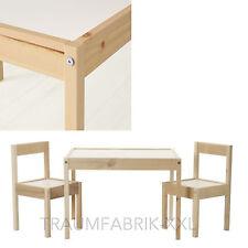 IKEA lätt tavolo per bambini +2 SEDIE mobili arredamento NUOVO