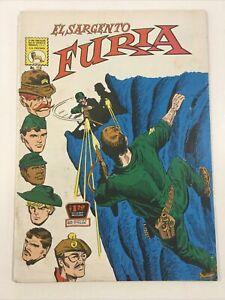 1972 SPANISH COMICS EL SARGENTO FURIA #114 SGT NICK FURY LA PRENSA MEXICO