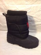 Girls POLO Black Boots Size 2