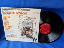 """The Guns of the Navarone"" OST LP Columbia CS 8455 VG+ VG+ minor edge wear"
