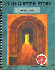 NEW TruthQuest History Guide ANCIENT ROME Miller Homeschool Teacher Guide