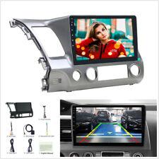 For 06-11 Honda Civic 10.1'' Car Stereo Radio GPS WIFI 3G 4G BT DAB Mirror Link