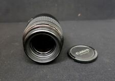 Cannon Macro Lens EF 100mm 1:2.8 USM Ultrasonic W/ Pouch