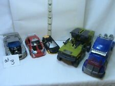 Transformers action figures Lot #3, Optimus Prime Parts, and more