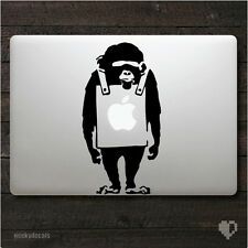 Banksy Monkey Macbook Decal / Macbook Sticker