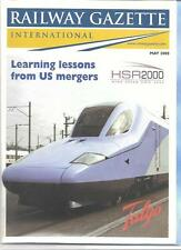 Railway Gazette International magazine- May 2000 DH