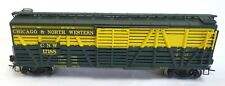 Broadway Limited Chicago & North Western Stock Car with Sound - HO