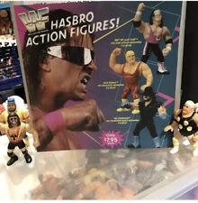 Wwf Hasbro Poster Mailaway Ljn Jakks
