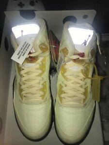 Jordan 5 off white Size 11