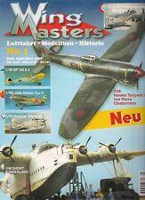 Wing masters nº 1 abril/mayo de aviación 1998 * modellbau * historial