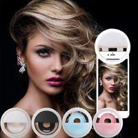 LED Selfie Ring Light Supplementary Lighting Night Darkness Selfie Enhancing
