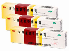 3 Packs Mayinglong Musk Hemorrhoids Ointment Cream English instruction UK Seller