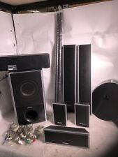 Sony DAV-HDX576WF Home Theater  Speakers AND WIRES . NO DVD OR REMOTE