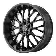 "Helo 20x10 HE890 Wheel Satin Black 5x4.5 / 5x114.3 PCD +40mm Offset 7.07""BS"