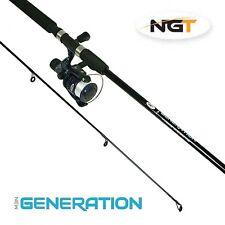 Nouvelle génération NGT combo 7ft 2 Piece Rod & Reel pêche set idéal voyage / Kayak