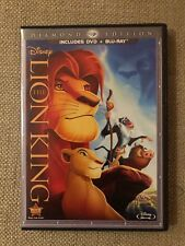 The Lion King Diamond Collection Blu-Ray and DVD and Digital Copy New .