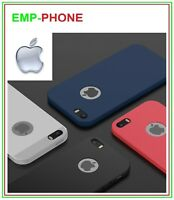 Cover Custodia Slim Per Iphone 5 5s SE + Pellicola Vetro Temperato Iphone SE 5s