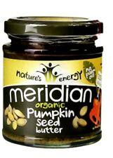 Meridian Foods  Organic Pumpkin Seed Butter New Sealed /170g × 3