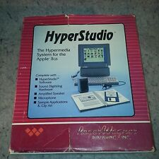 HyperStudio for Apple IIgs Super rare .....