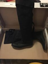 MINT Frye Celia Over the Knee leather riding boots 10 B Worn Once!