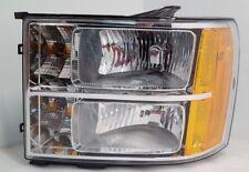 New GM OEM Headlight Fits 2007-2014 GMC Sierra Left Driver Side 22853029