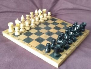 Vintage chess USSR, 1970  lot#001/03