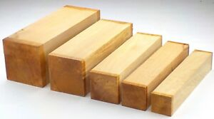 English Beech woodturning or carving spindle blanks / squares. Table legs