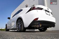 2014-2015 LX IS250 IS350 AWD Model ARK GRiP True Dual Exhaust w/ Burnt Tips
