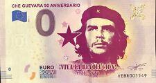 BILLET 0 ZERO EURO SCHEIN SOUVENIR CHE GUEVARA 90 ANNIVERSARIO 2018-1