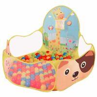 Piscine a Balles pour Enfants Tente de Jeu Bebe Portable Baby Ocean Boule Pis B4