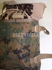 2 Made in USA marpat ILBE Rucksack Pack USMC Radio Utility POUCH holds 4 MREs GI