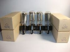 4x  5C4S ( 5Z4 / 5U4S / CV1863  / 5Z4GT ) .NOS RUSSIAN RECTIFIER TUBES.NIB!