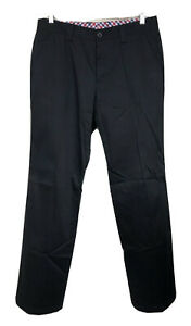 Callaway Mens Golf Pants Trousers Black Straight Leg Size 3L (Chinese Sizing)